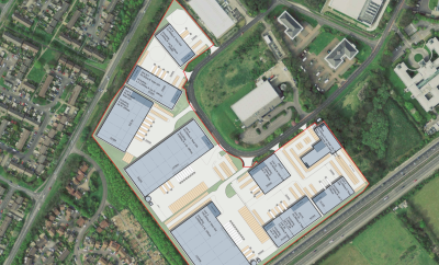 Seven industrial buildings planned at Basingstoke site