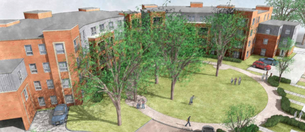 Barratt Homes wins approval for 130 flats at Crowthorne