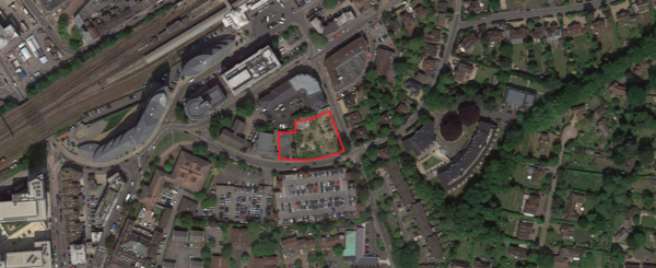 147 flats plan for Woking town centre