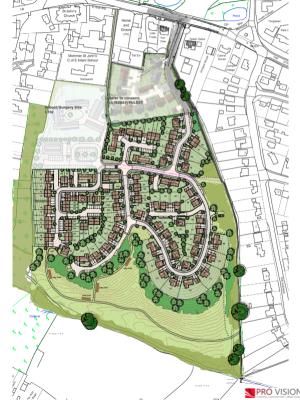 Mortimer residents support homes, school and surgery plan
