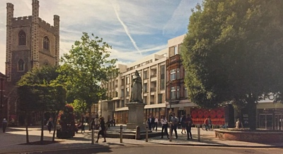 Seven shops and 64 flats planned at Bristol & West arcade