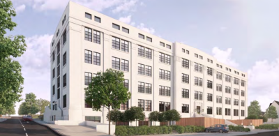 Plan to increase Eli Lilly building conversion to 96 flats