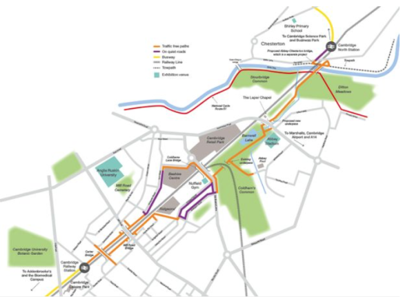 Cambridge Cycle Highway approved