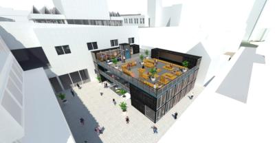 Urban market plan for Broad Street Mall