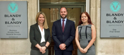 Four promotions at Blandy & Blandy