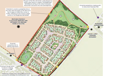 Gladman Developments plans 230 homes at Chalgrove