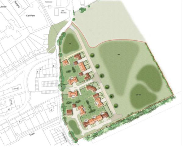 24 new homes in Lavenham