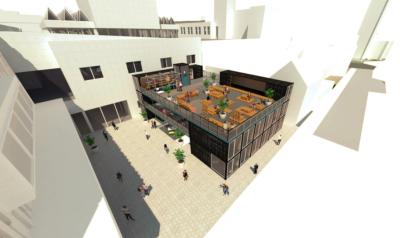 Broad Street Mall urban market plan deferred