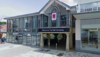 Camberley's Mall becomes The Square