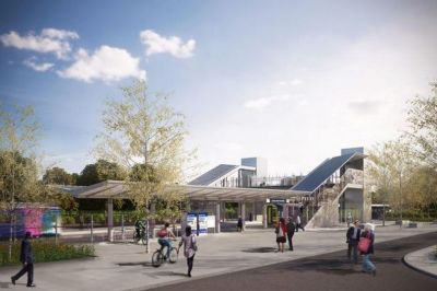 Green Park station moves closer