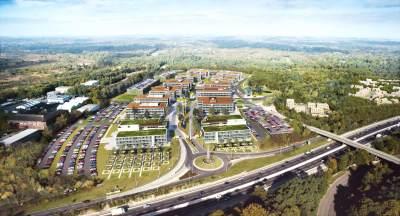 850,000 sq ft Longcross Park launched