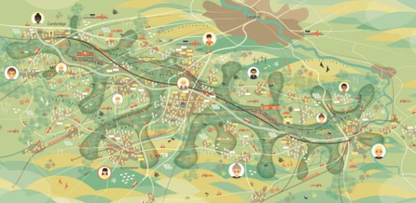 Four battle to design new Cambridge to Oxford corridor