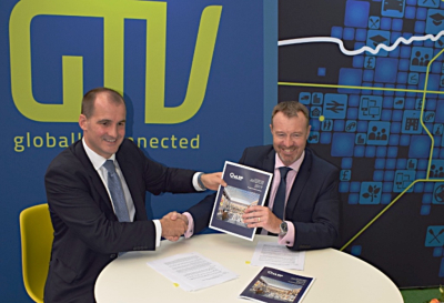 Minister's signature backs GTV at MIPIM UK