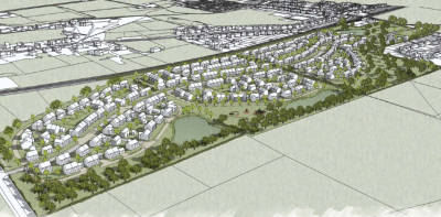 Plan for 300 homes at Monks Risborough