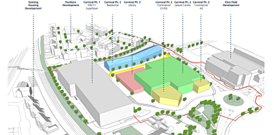 Wokingham's Carnival site phase 2 wins approval