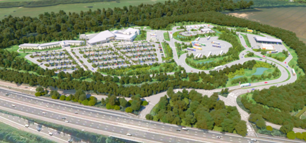 New service station planned for M3 J6