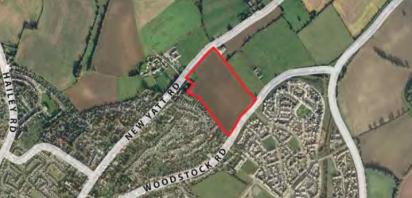 Taylor Wimpey plans 200 homes for Witney