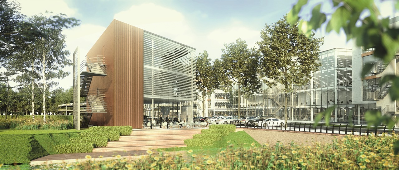 Work to start on first offices at Longcross Park