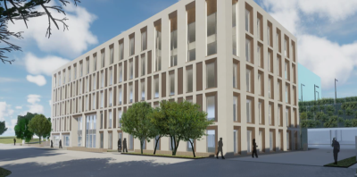 Two new office buildings planned for Basing View