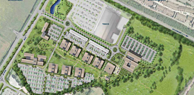 New plan for 60,000 sq m Bicester Office Park