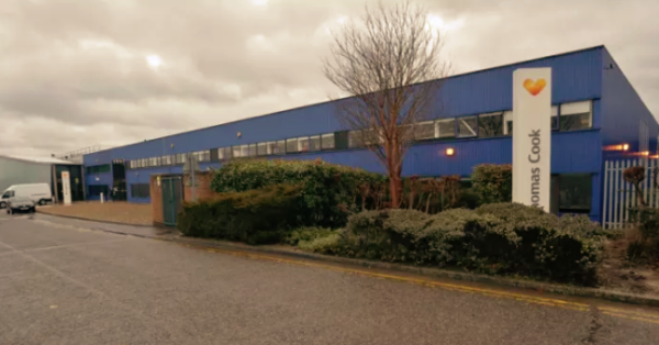 Travel agent Thomas Cook sells former offices in Peterborough.