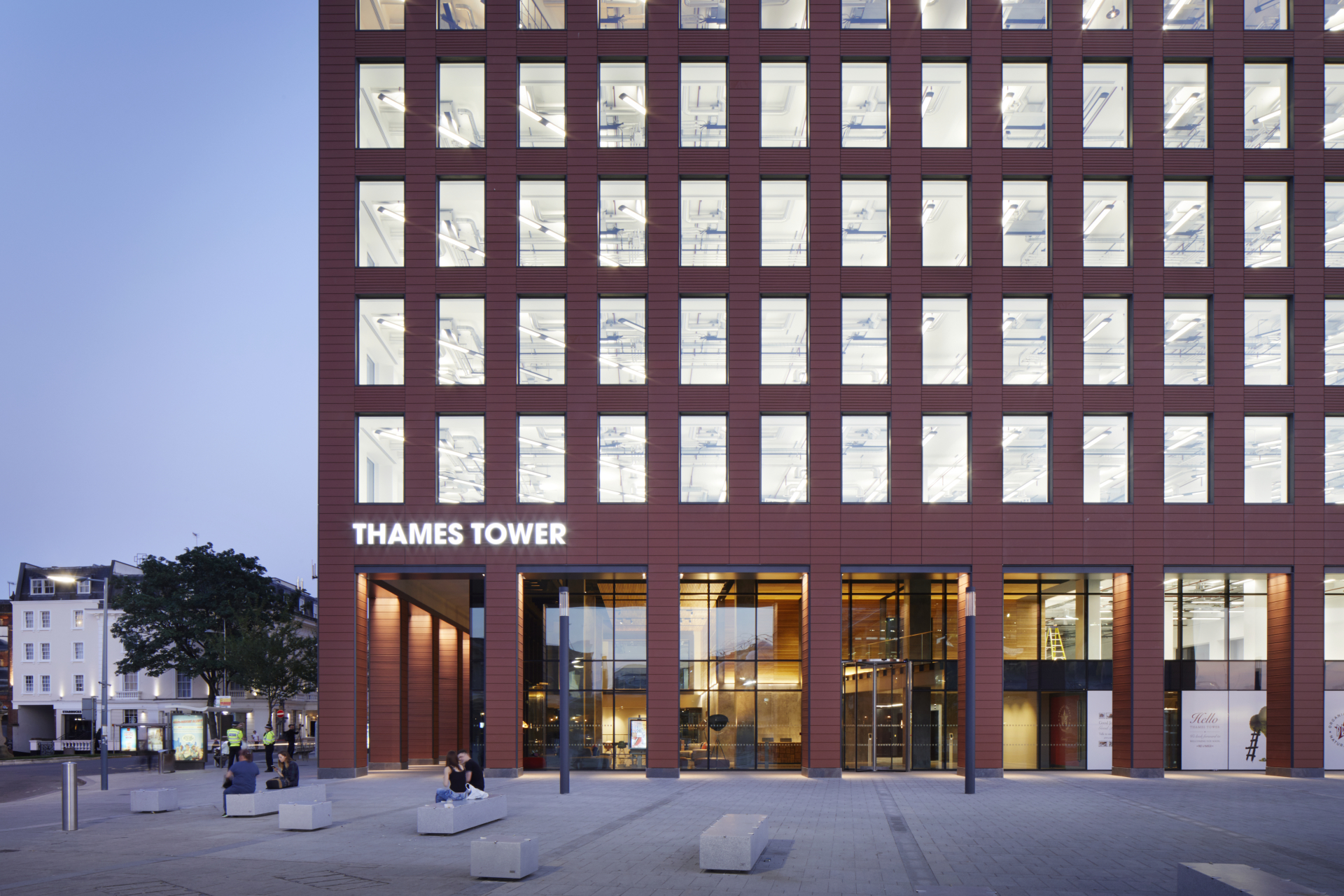 Three more occupiers at Thames Tower