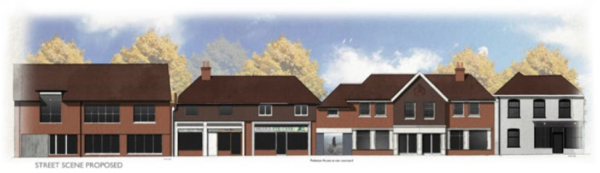 Homes and shops planned for Theale High Street