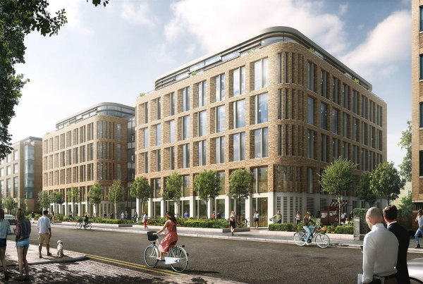 New office space at Cambridge CB1 approved
