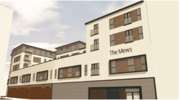 Plans for 100 flats in Peterborough town centre