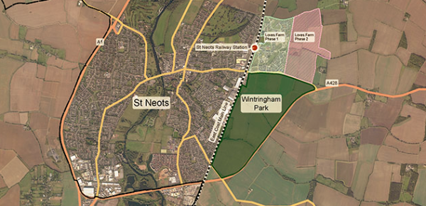 Urban & Civic get go-ahead at St Neots