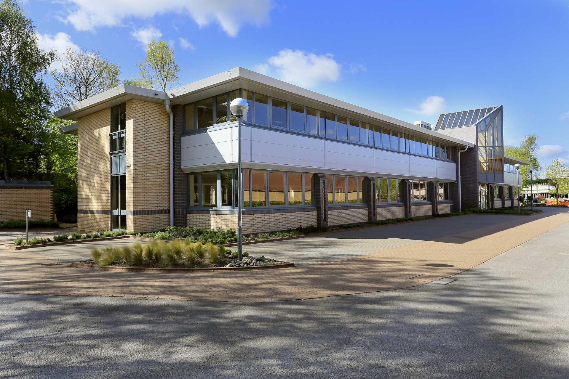 Two units let at Mulberry Business Park, Wokingham