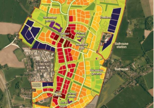 Rackheath North masterplan revealed