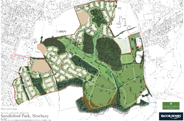New plans for Sandleford Park, Newbury
