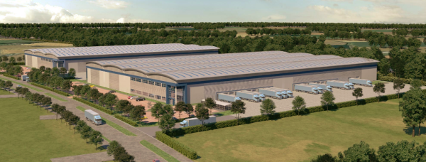 Two speculative logistic units up for development