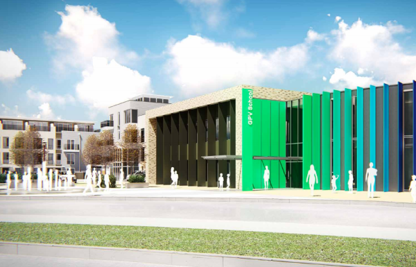 New enlarged plans for Green Park Village Primary School