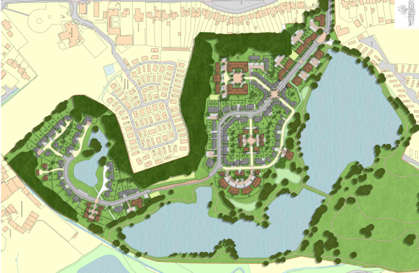 248 homes planned for Camberley