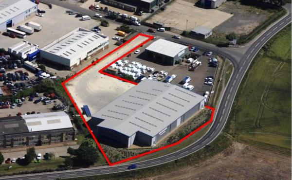 Industrial site sold to JCB