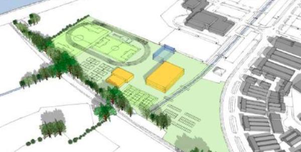 Secondary school plan for Richfield Avenue, Reading