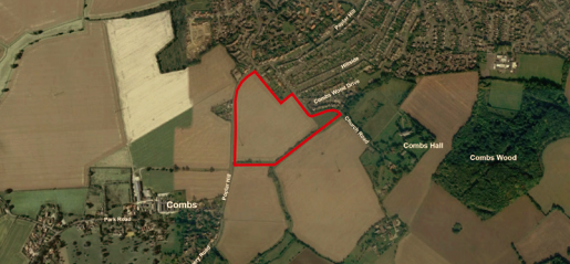 Application for 160 homes in Stowmarket