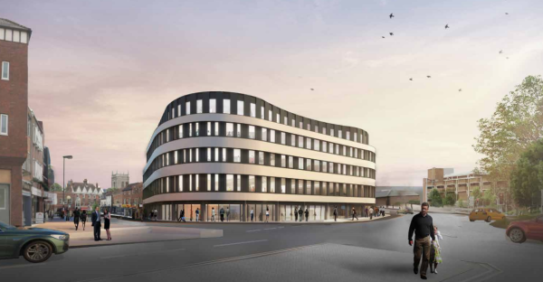 Permission granted for The Curve at High Wycombe