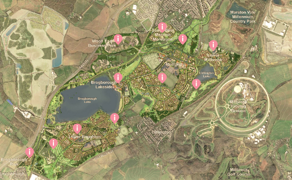 Marston Vale outline planning application submitted
