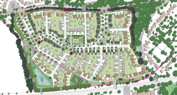 283-home Radley plans deferred