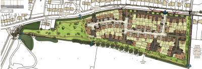 97 homes planned for Thatcham site