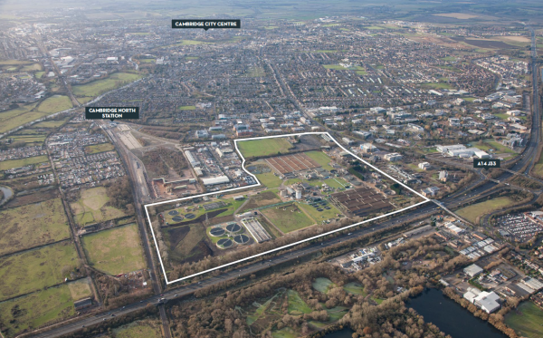 Developer chosen for Anglian Water site in North East Cambridge