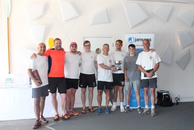 Ten teams take on Jansons rowing challenge
