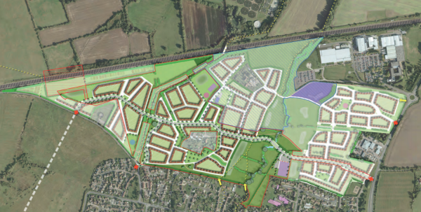 Approval for 500 Oxfordshire homes