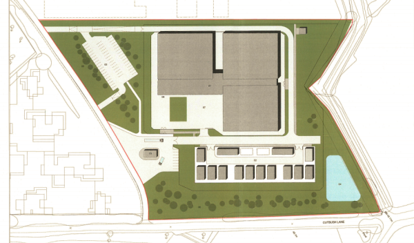 Data centre plan for Thames Valley Science Park
