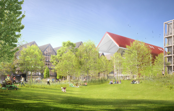 Oxford North plans submitted