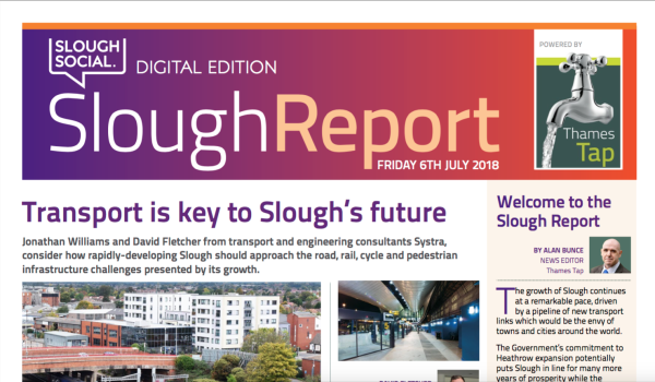 The Slough Report - out now