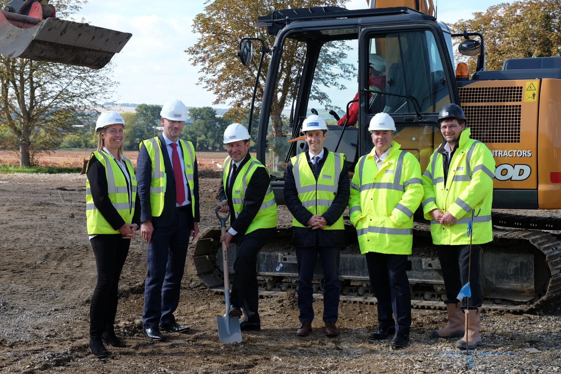 Ed Vaizey MP launches 36,000 sq ft scheme at Grove Business Park